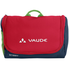 VAUDE Bobby Toiletry Bag Kids marine/red